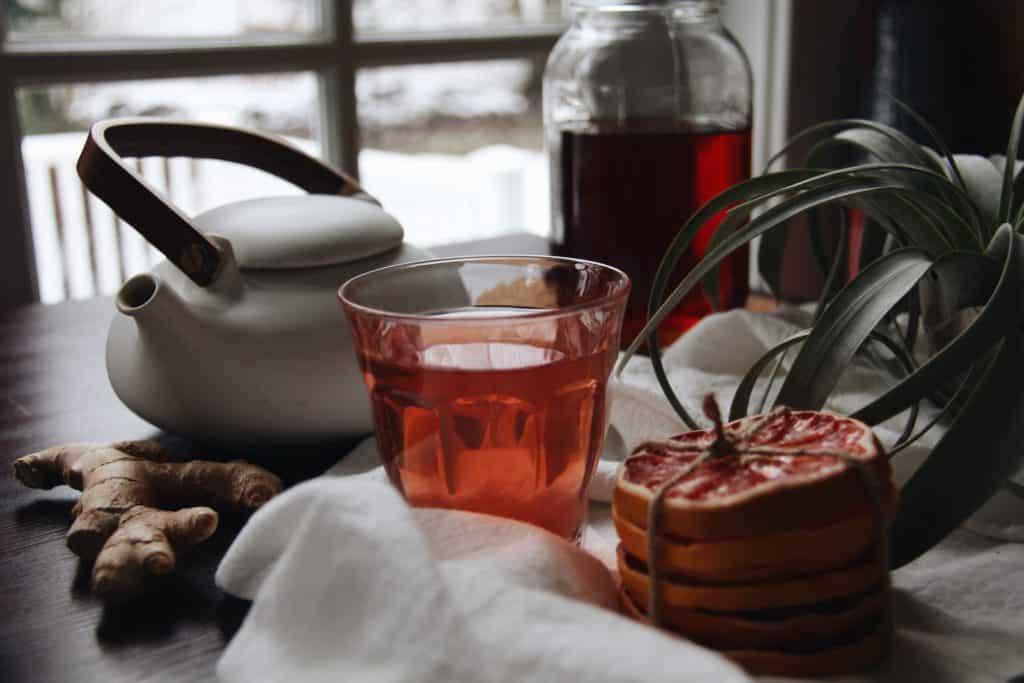 Homemade Kombucha Recipe | Home for the Harvest | www.homefortheharvest.com