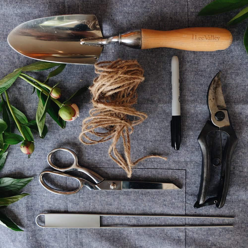 Garden Tools List - Gardening Essential Supplies