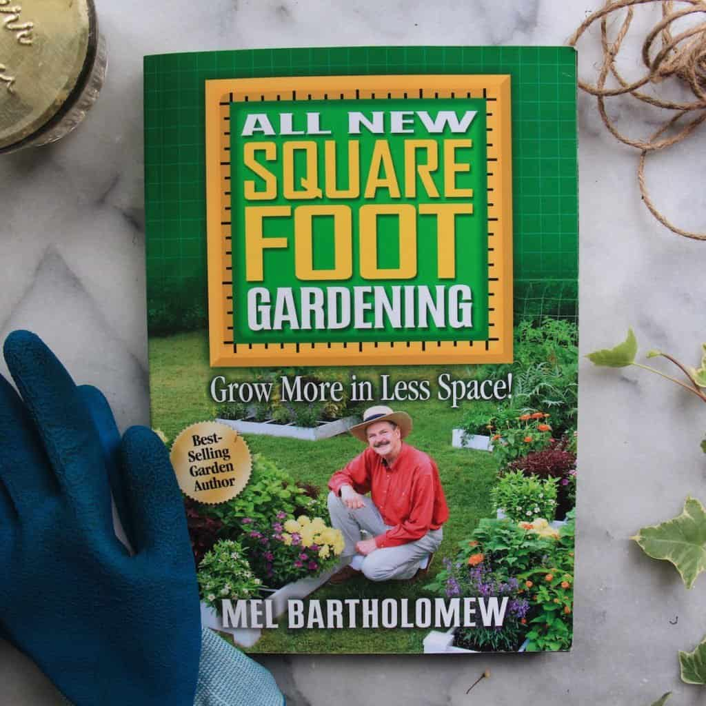 Square foot gardening - one of the best gardening books ever