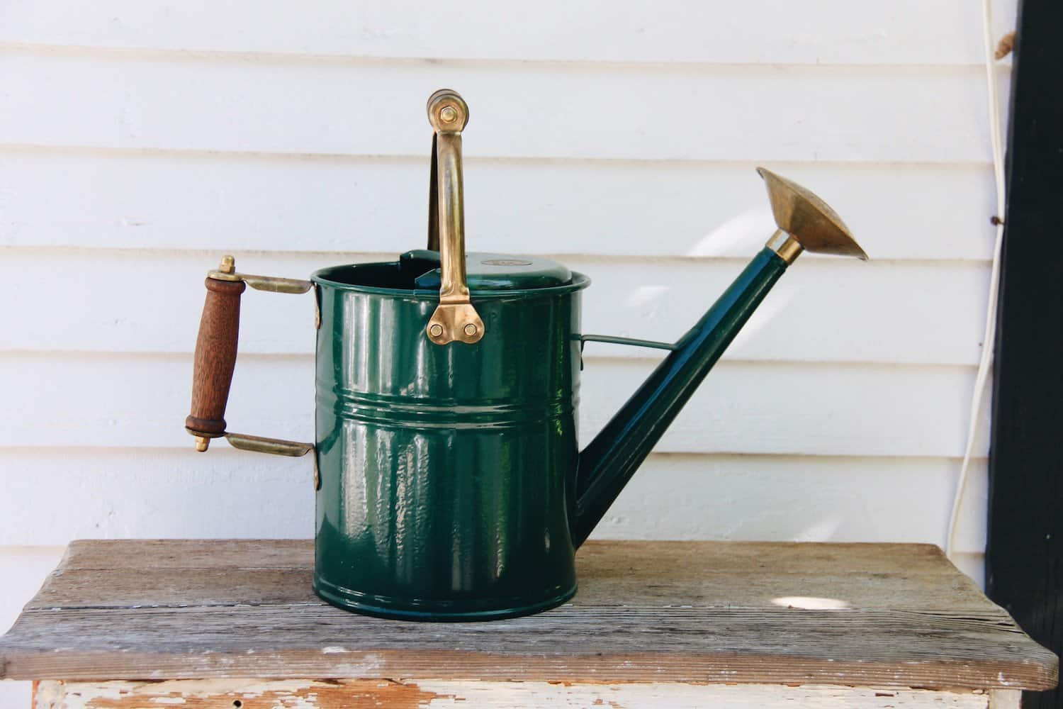 High-Quality Metal Watering Can - Gifts for Gardeners | Home for the Harvest Gardening Blog