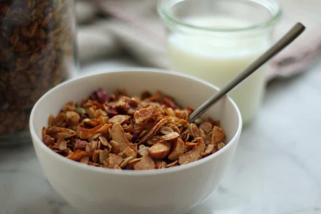 Organic Gluten-Free Granola | Home for the Harvest