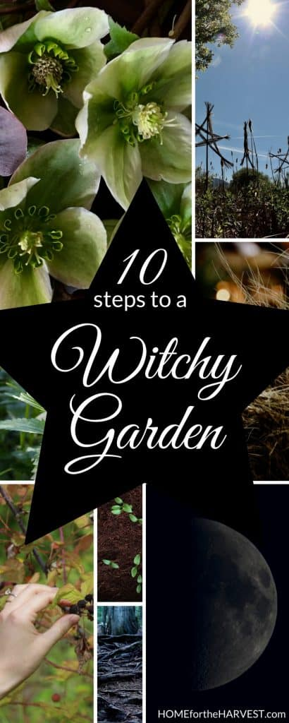 10 Ways to Create a Witch's Garden - Home for the Harvest