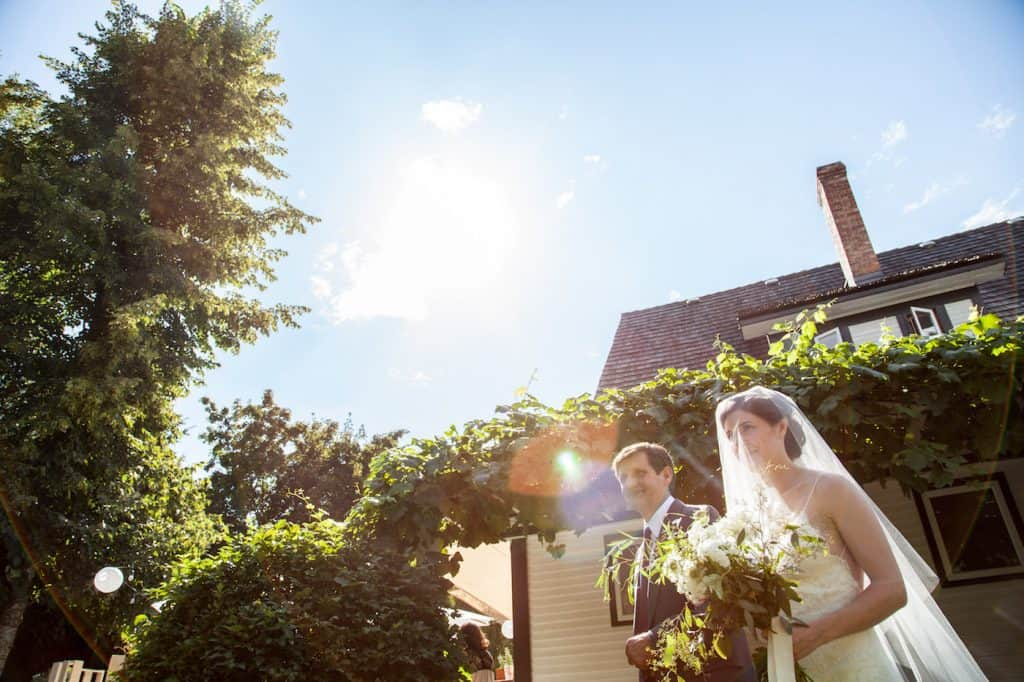 Garden Wedding | Home for the Harvest