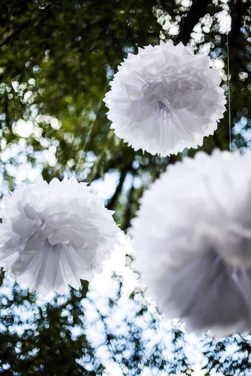Simple DIY decor ideas for a backyard garden wedding | Home for the Harvest