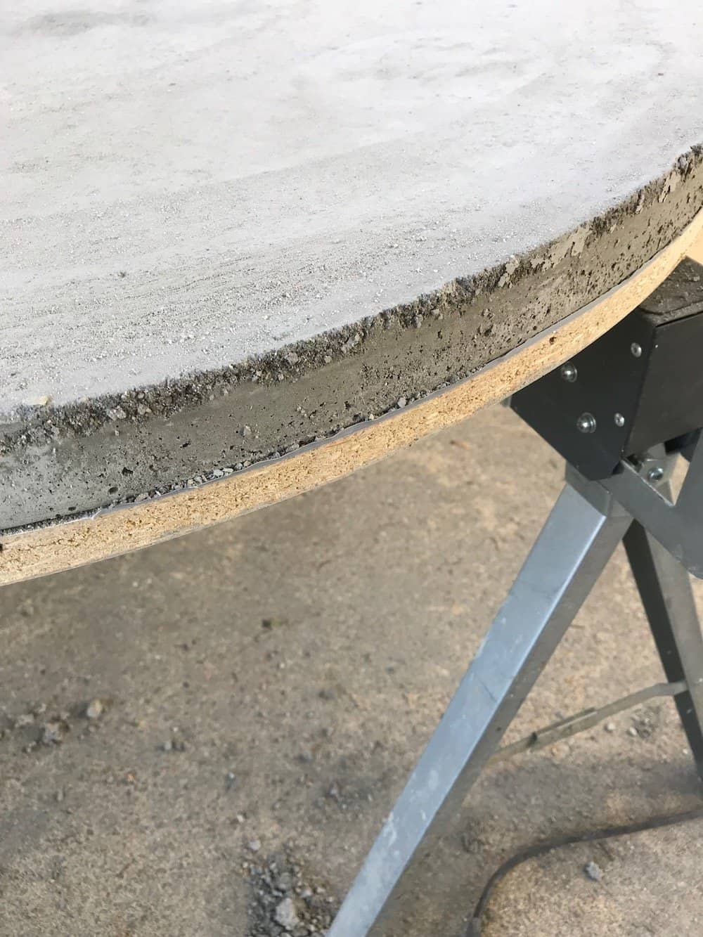 diy patio table for the mid century modern sun deck
