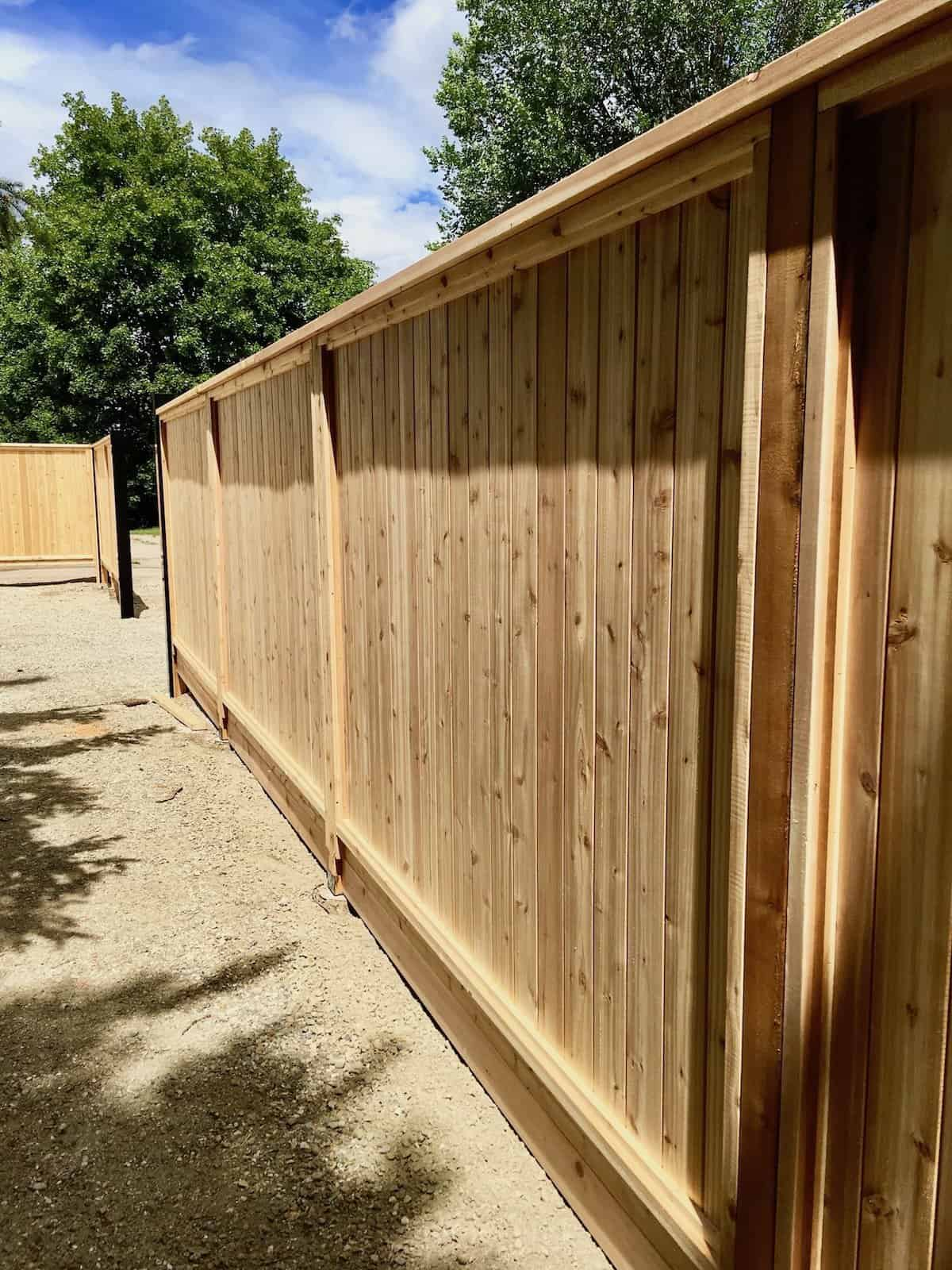 Privacy Fence: Using Wood Fence Panels to Create Privacy ... on Decorations For Privacy Fence id=62555