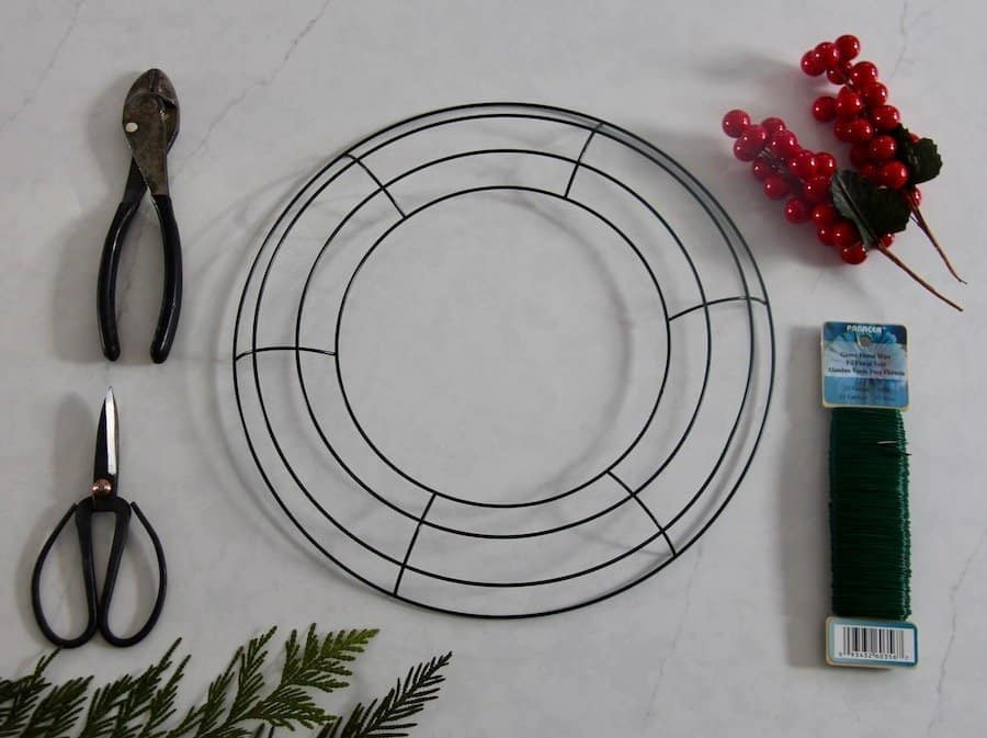 Basic Supplies for Wreath Making Kits