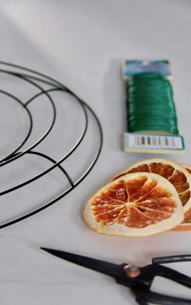 Tools and Supplies for Wreath Making Crafts