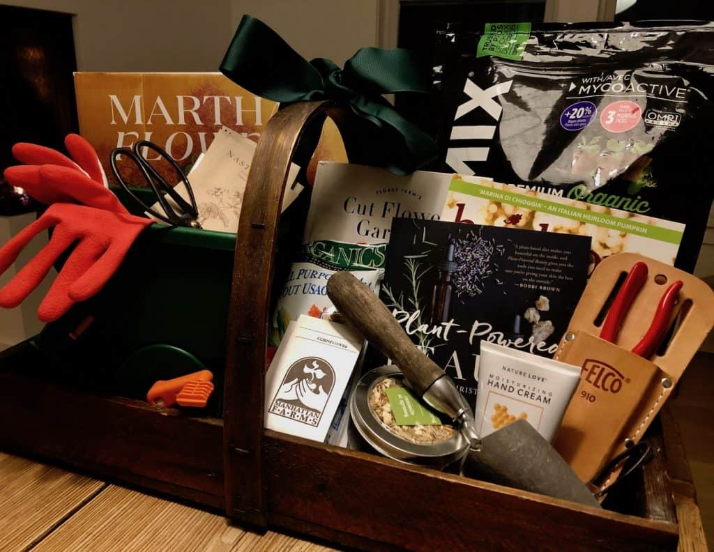Silent Auction Gardening Basket Prize