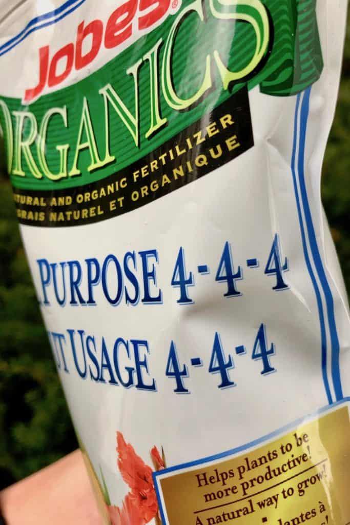 Balanced Organic Fertilizer