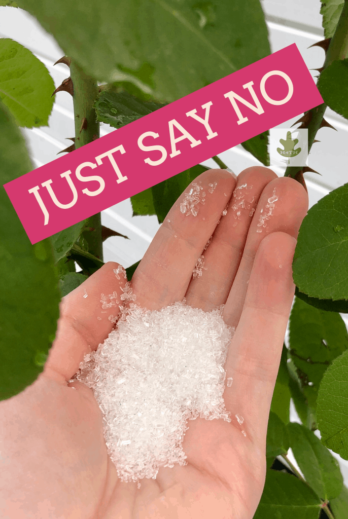Just Say No to Epsom Salt in the Garden
