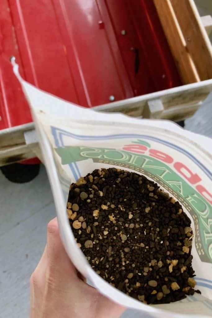 Natural Plant Food inside Bag