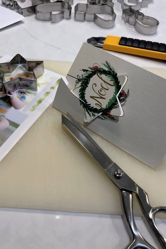 How to Preserve Greeting Cards into Christmas Ornaments