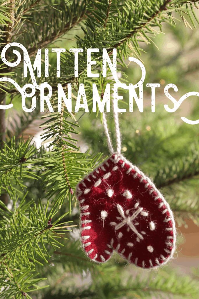 Mitten Ornaments