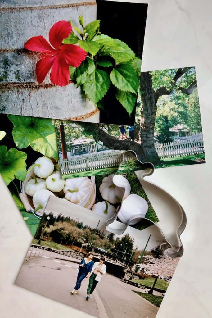 Photo Memory Tree Ornaments in Cookie Cutters