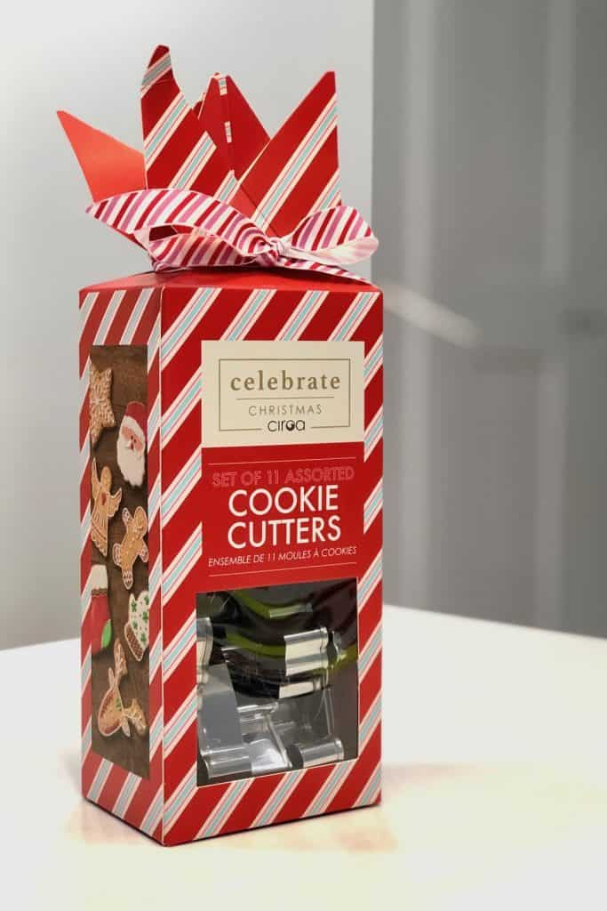 Red Box of Christmas Cookie Cutters