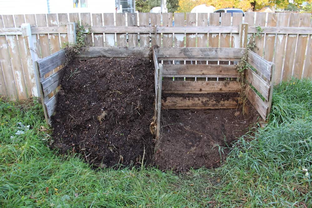 Composting at Home - Simple Cold Compost Heap