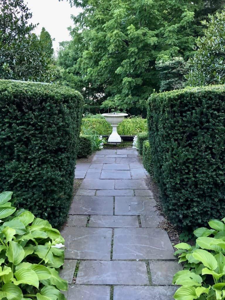 Concrete and Stone Bird Baths in Garden Design