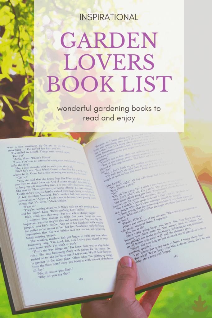 garden lovers book list