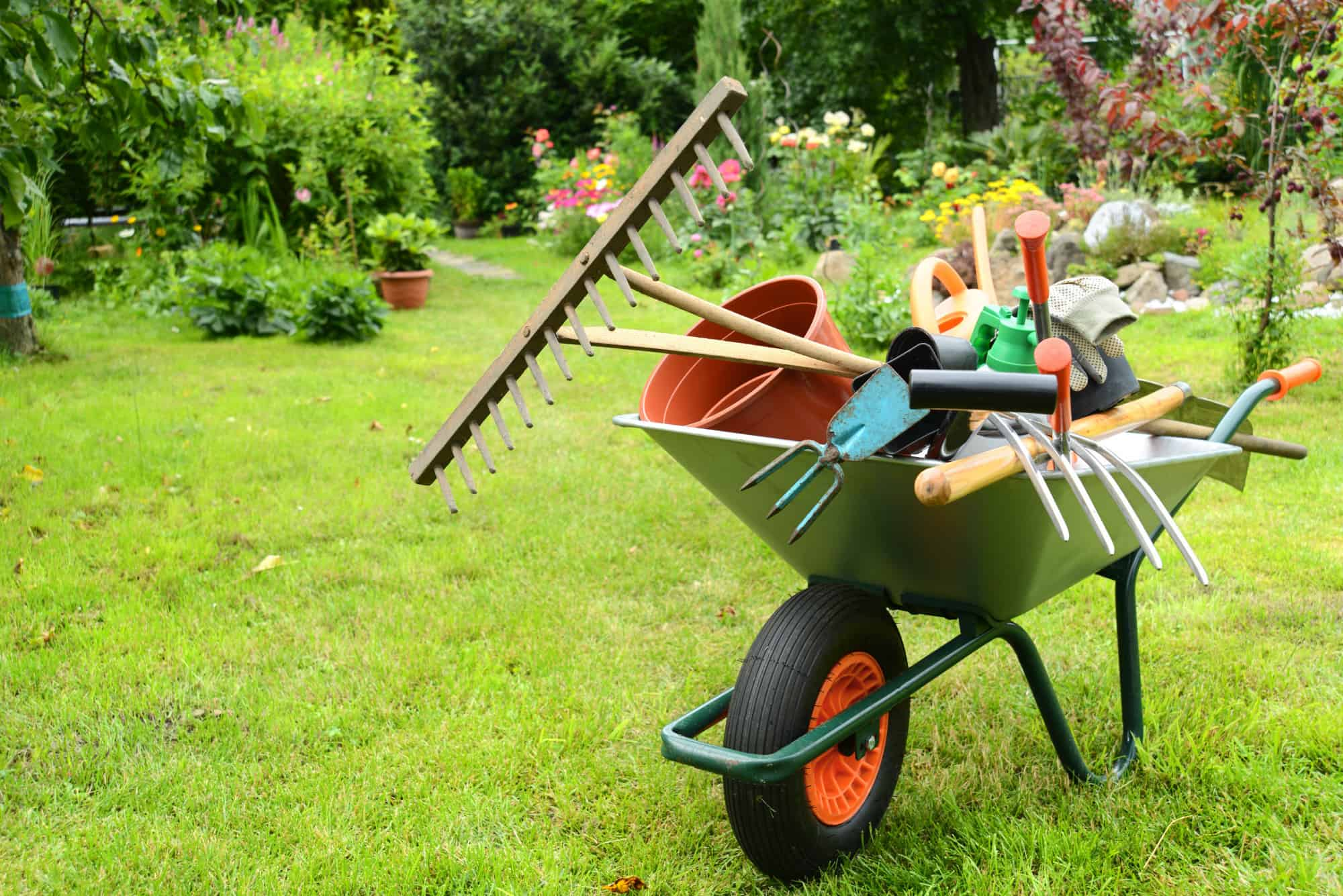 home gardening tools