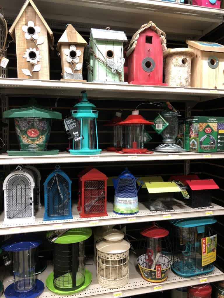 Birdhouses and Bird Feeders for Sale