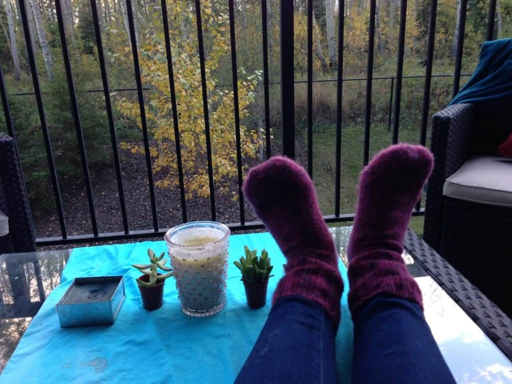 Cozy up and bring in the houseplants in October