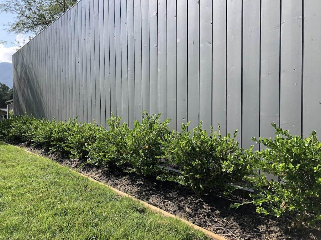 Cedar Board Garden Edging - Natural Landscaping