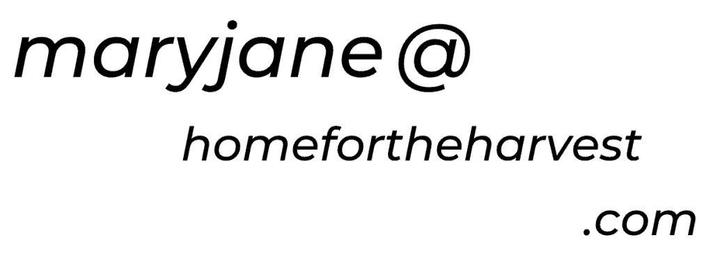 homefortheharvest email