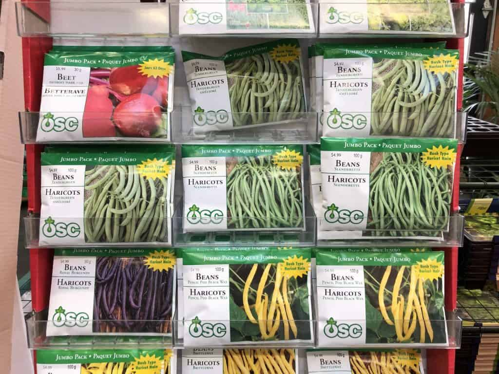 Canadian Seed Companies - OSC Packets